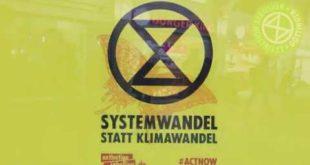 "[XR Göttingen 22.01.2020] ""This is an Emergency"" am Bahnhof Göttingen"