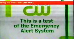 2011 CW Emergency Alert System Weather Test Commercial (Bad Video)
