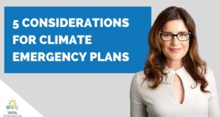 5 considerations for developing climate emergency plans in 5 minutes