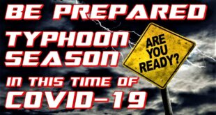 Be Prepared for the Typhoon Season in this time of COVID-19 | dyey2t VLOG