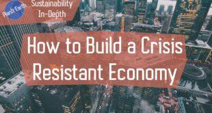 Building a Crisis Resistant Economy