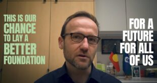 Building a Green New Deal – Adam Bandt and the Greens