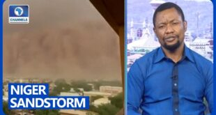 Climate Change Responsible For Intense Sandstorm In Niger - Environmentalist