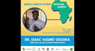 Climate Change & Conflict in the Lake Chad Region of West Africa - Dr. Isaac 'Asume' Osuoka for ACAI