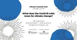 Climate Cocktail Club | Climate Cast #1 | What does the Covid-19 crisis mean for climate change?