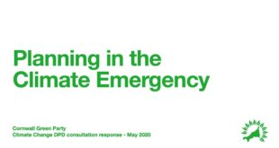 Cornwall Green Party on Planning in the Climate Emergency