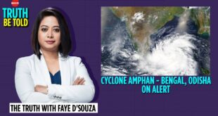 Cyclone Amphan - The Truth With Faye D'Souza