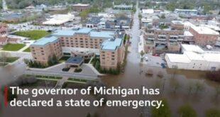 Dam failures in Michigan lead thousands to evacuate