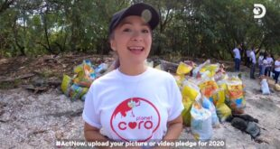 Discovery Channel Sustainability Campaign with Antoinette Taus