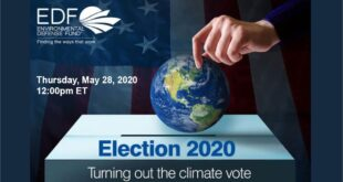 EDF Live | Election 2020: Turning Out the Climate Vote