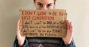 EIGHTH ONLINE STRIKE FOR THE CLIMATE  Today I want to talk about plastic.  The ...