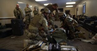 Emerald Warrior 20-1 Mass Casualty Exercise
