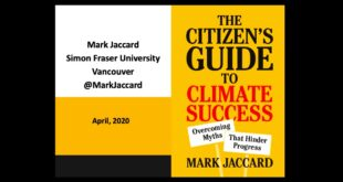 Emergency: The Citizen's Guide to Climate Action -- Mark Jaccard