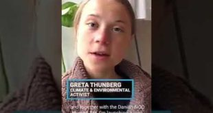 Greta Thunberg Gives $100,000 in prize to Unicef