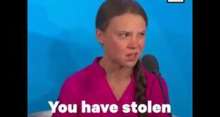 Greta Thunberg's Rude to UN leaders