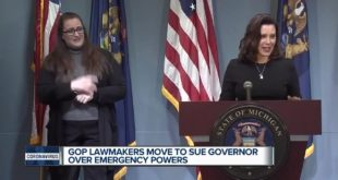 House doesn't extend virus emergency, moves to sue Whitmer