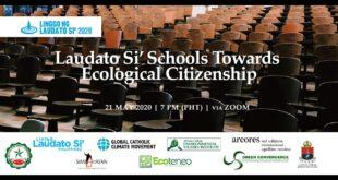 LLS Webinar 5 - Laudato Si' Schools Towards Ecological Citizenship