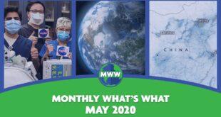 NASA Ventilator, Earth Day Live, COVID-19 & Climate