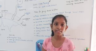 Nila Balakrishnan : Student Protest For Climate Change