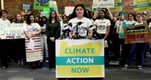 Oregon Youth Declare Climate Emergency