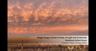 Professor Mark Howden - Wagga Wagga Climate Change, Drought and Community Resilience Forum