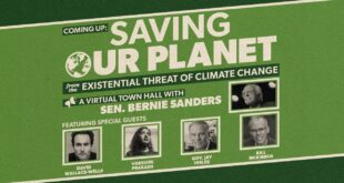 SAVING OUR PLANET FROM THE EXISTENTIAL THREAT OF CLIMATE CHANGE (LIVE AT 8PM ET)