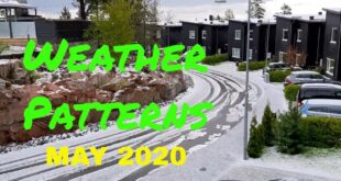 Strange Weather Patterns in Sweden May 2020  (No Comments)