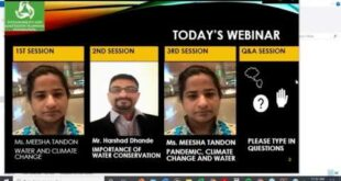 WATER SERIES #1 FINAL WEBINAR RECORDING,  MEESHA TANDON