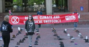 XR Shoe-In Climate Crisis & Covid-19 Pandemic
