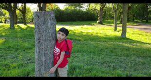 Zayyan is upset because he love trees #ClimateChange #SaveNature #ClimateEmergency
