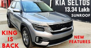 2020 Kia Seltos - India's Favourite SUV   Sunroof, New Interiors, Features, Price   Kia Seltos 2020