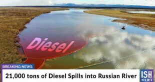 21,000 tons of Diesel Spills into Russian River