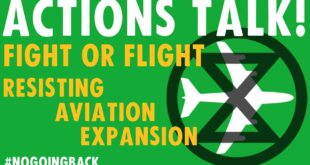Actions Talk | Fight or Flight | Extinction Rebellion