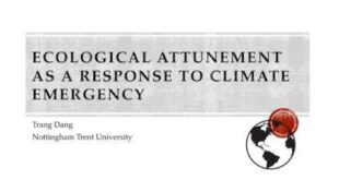 Attunement as a Response to Climate Emergency - 2020 ASLE Virtual Conference