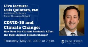 COVID-19 and Climate Change