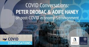 COVID Conversations: Peter Drobac & Aoife Haney on post-COVID economics and environment