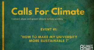 Calls for Climate - International Event #1: How to Make Your University More Sustainable?