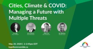 Cities, Climate & COVID: Managing a Future with Multiple  Threats