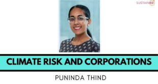 Climate Risk and Corporations | Puninda Thind on SustainED