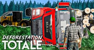 DEFORESTATION TOTALE #20 | L'ACCIDENT ! Farming Simulator 19
