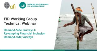 Demand Side Survey on Revamping Financial Inclusion (Part 1) - FIDWG Technical Webinar