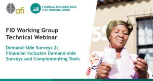 Demand Side Survey on Revamping Financial Inclusion (Part 2) - FIDWG Technical Webinar
