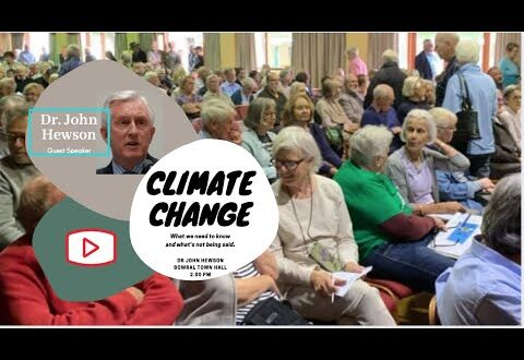 Dr John Hewson, Climate Forum Bowral