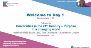 #ETConf20 Professor Mary Stuart, CBE: Universities in the 21st Century - purpose in a changing world