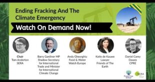 Ending Fracking and the Climate Emergency - SERA Fringe Event #Lab19