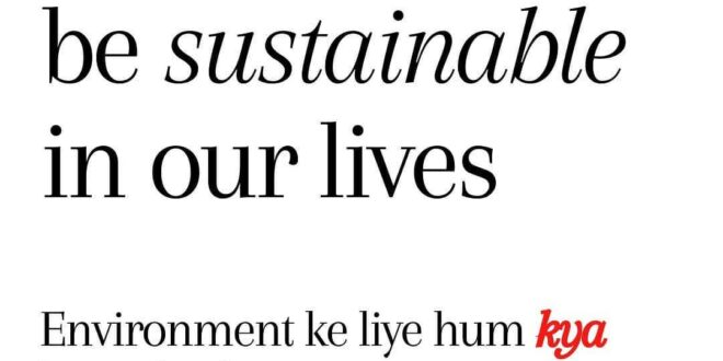 Environment ke liye #humkyakarsaktehain  What can we do for the environment?  Le...