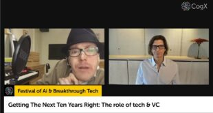 Getting The Next Ten Years Right: The role of tech & VC | CogX 2020