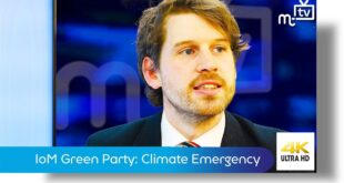 "IoM Green Party: Tynwald to debate ""Climate Emergency"" motion"