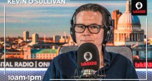Kevin O'Sullivan Saturdays | 10am-1pm | 30-May-20