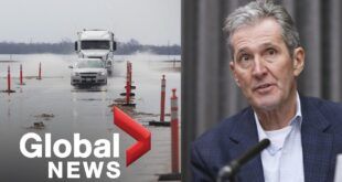 Manitoba invests $33M on emergency response and damage prevention projects | FULL